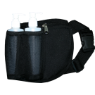 Double Bottle Massage Oil Holster- Black