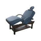 Stationary Self Adjustable Flexible Armrest Massage Table