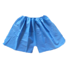 Disposable Underwear Paper Boxer Shorts 100/Package - Medium Blue