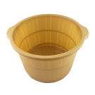 Plastic Round Foot Soaking Barrel Cask w/ Handles