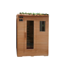 4 Person Compact Therapy Sauna