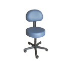 Thick Pneumatic Stool With Backrest