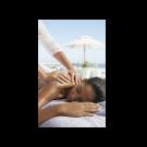 XL Back Massage Umbrella Ocean View Picture Poster