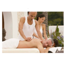 Relaxing Massage Decoration Picture Poster- Outdoor