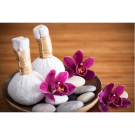 Relaxing Massage Decoration Picture Poster- Herbal Balls
