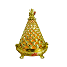 Chinese Good Luck Rotating Lamp- Pyramid