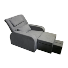 Fabric Reclining Foot Massage Sofa- Armrest
