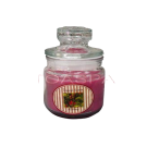 Mulberry Candle -Jar w/ Lid 