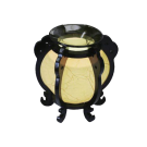 Electric Oil Warming Burner Fragrance Lamp- Yellow Ball
