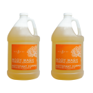 2 Gallon Body Wash- Tangerine Lemongrass Free Shipping