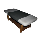 Dark Massage Table Pad