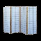 4 Panel Folding Screen -Natural