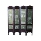 Antique Divider Screen Two sides- Joyful
