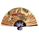 Chinese Folding Tiger Fan