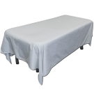 6pc/pkg Large Flat Sheets Washable Table Cover