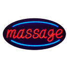 "LED Neon Rope Strip Indoor Window Display Sign- ""Massage"" Free Shipping"