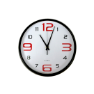 10.5&quot; Round Clock 804D-01