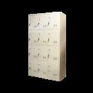 Heavy Duty Metal Compartment Locker - 12 Lockers Thick