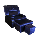 MU0318-01 Fabric Reclining Foot Massage Sofa w/ Armrests