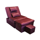 MULA99-01 Manual Fabric Reclining Foot Massage Sofa w/ Lines