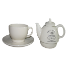 3 PC Tea Set