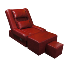 LA-01 PVC Reclining Foot Massage Sofa
