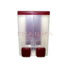 2 Chamber Soap Dispenser - Red