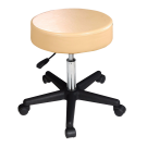 Master Beauty Rolling Swivel Hydraulic Massage Stool (Cream) Free Shipping