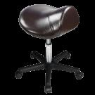Master Saddle Stool Hydraulic Ergonomic Office Massage Rolling Chair (Coffee) Free Shipping