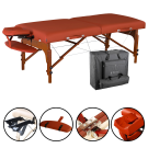 "Master 31"" Santana Portable Massage Table Pro Package"