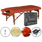 "Master 31"" Santana Therma-Top Portable Massage Table Package"