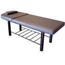 Stationary Spa Massage Elevating Backrest Table- Coffee