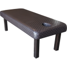 Stationary Spa Massage Table- Coffee