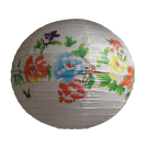 Mixed Round Paper Lanterns- Large 6pc