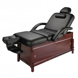"""30"""" Master Massage Cabrillo Stationary Massage Table with Cabinet and Tilting Backrest …"""