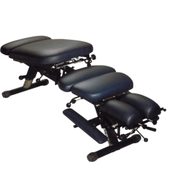 Stationary Chiropractic Table Iron 280- Black Free Shipping