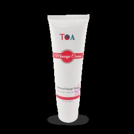 TOA Unscented Cream Massage Hydrating Body Spa Jar Bottle (7oz)