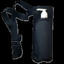 Single Bottle Holster Adjustable Strap w/ 6oz Bottle for Oil, Lotion, Cream Free Shipping