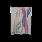 2 PC Set Water Painting 4 Panel Bamboo Folding Screen Free Shipping