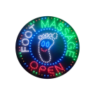 LED Flashing Foot Massage Open Sign