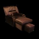 ELLA08-01 Electric Fabric Foot Massage Sofa w/ Armrests