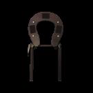 Standard Adjustable Face Rest Cradle Brace- Black