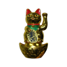 Maneki Neko Lucky Cat with Base