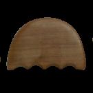 Wooden Gua Sha Body Massage Board- Comb