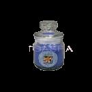 Candle -Jar w/ Lid Plumeria