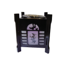 Electric Oil Warming Burner Fragrance Lamp- Purple Flower