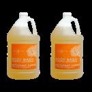 2 Gallon Body Wash- Tangerine Lemongrass Free Shipping