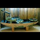 Indoor Outdoor Tabletop Garden Waterfall Fountain- Big Cross