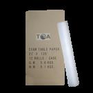 "21""x 125ft Paper Roll - 12 rolls"