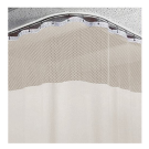 10ft Beige Medical Curtains w/ Track Kit- 9.5ft High Free Shipping